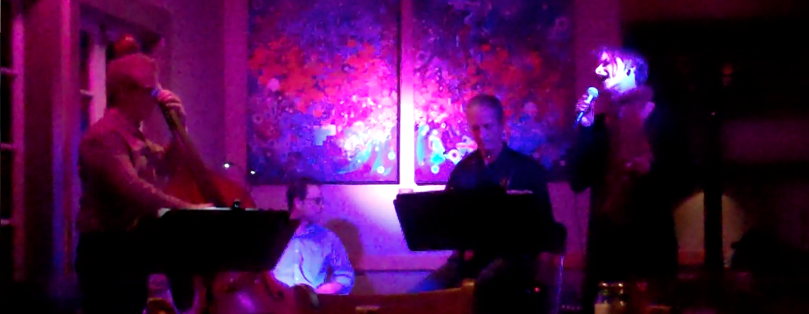 Danielle Reich, Paul Glasse, Richard Mikel & Steve Schwelling at Z'Tejas, Austin, TX