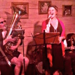 Boomtown Brass Band at Cezanne, photo by Dance to Live Music 365, Houston, TX
