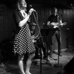 Danielle Reich, Mitch Watkins, and Paul Glass at SaxonPub by Kim Yarbrough